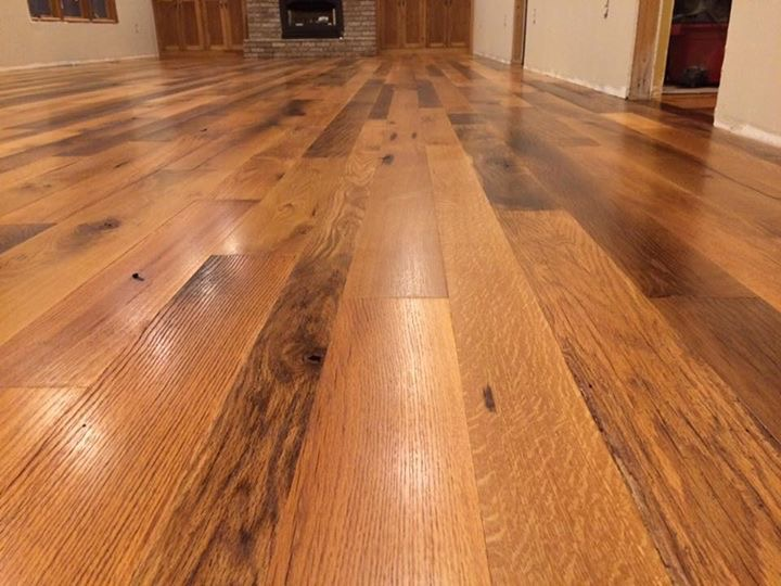 hardwood floor refinishing or a new hardwood floor Wilkerson Floors has you covered!